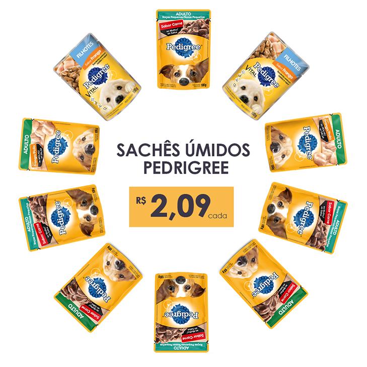 Sachês Pedigree